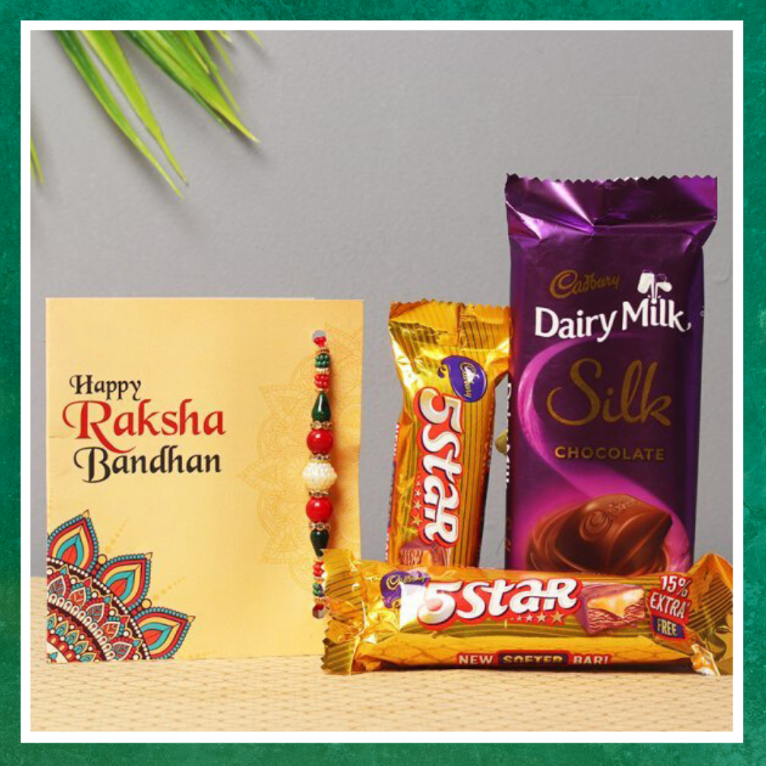 Chocolate loaded Rakhi Gift Hamper