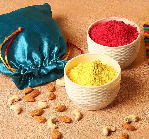 Color and Dryfruits
