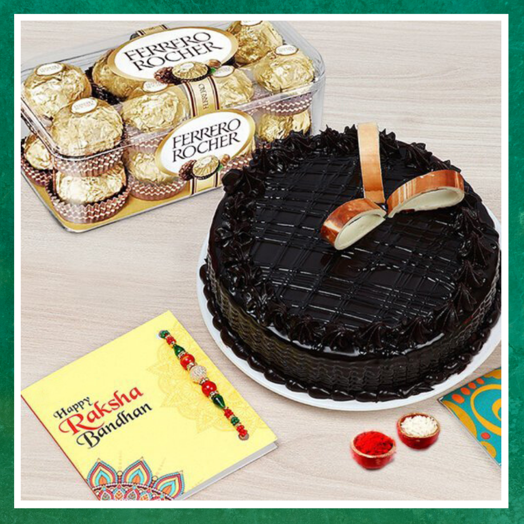 Happy Chocolate and Rakhi Combo