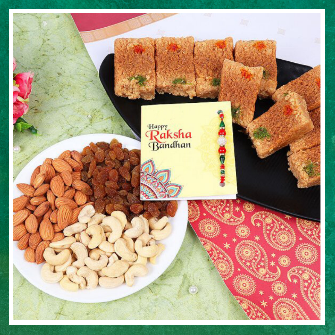 Make this Rakhi sweeter with Milk Cake Gift Pack